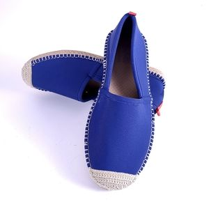 Sea Star Beachcomber Blue Espadrille Shoes Size 7